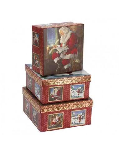 Pack 3 cajas Navidad