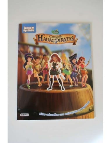 Campanilla Hada Piratas Book