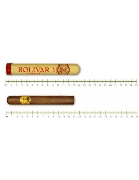 Habano Simón Bolívar nº 2 tubo