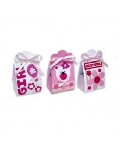 Set de 24 Cajitas Infantiles Baby Girl
