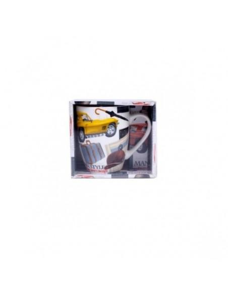 Taza Retro Man en caja de regalo