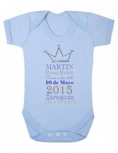 Body short sleeve personalized birth