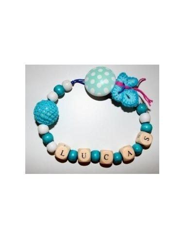 Personalized pacifier Crochet