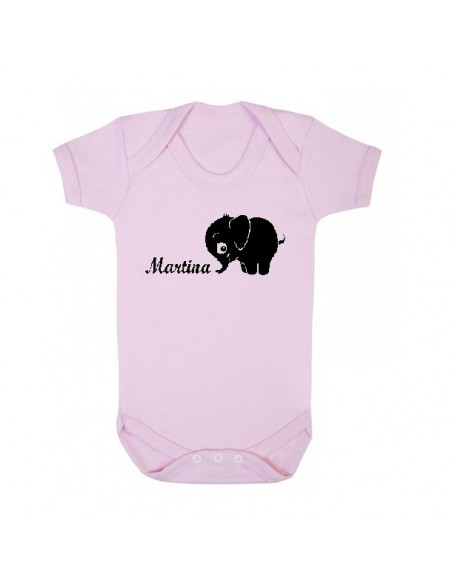 Body Personalizado Elefante