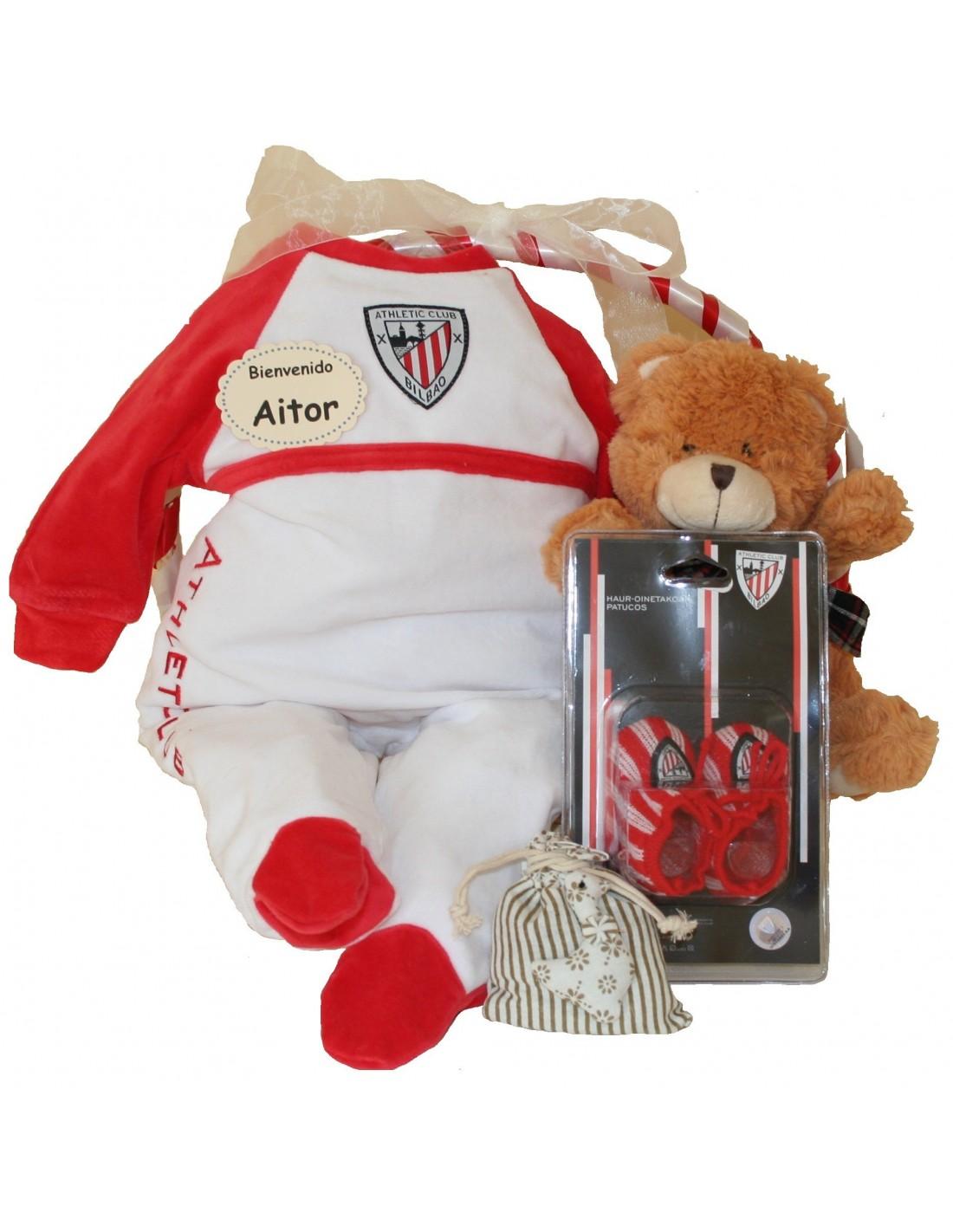 Comprar Canastilla Athletic Club Bilbao. online - Cestitas. Comprar  Canastilla. Canastilla bebé Athletic de Bilbao 84335f59fe9cc