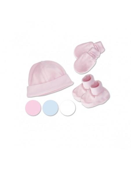 Set cap, mittens and booties of Cocuy