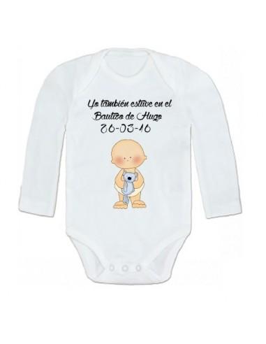 Body Bautizo niña: Yo también estuve en el bautizo de...