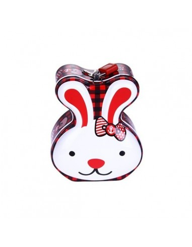 "Hucha de metal divertida ""Diver Rabbit"""