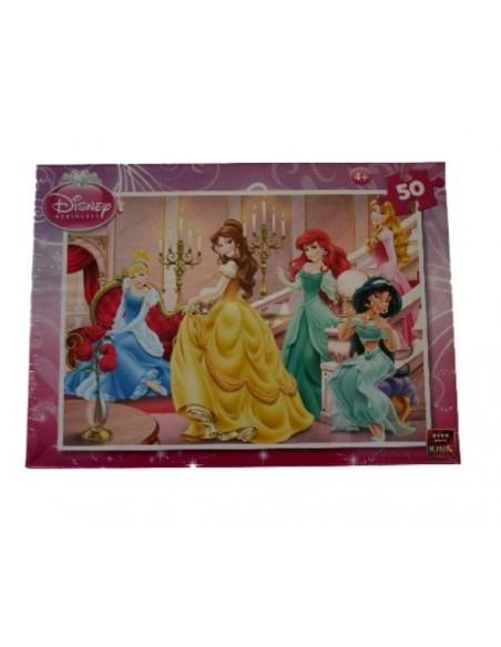 Puzzle 50 piezas Princesas