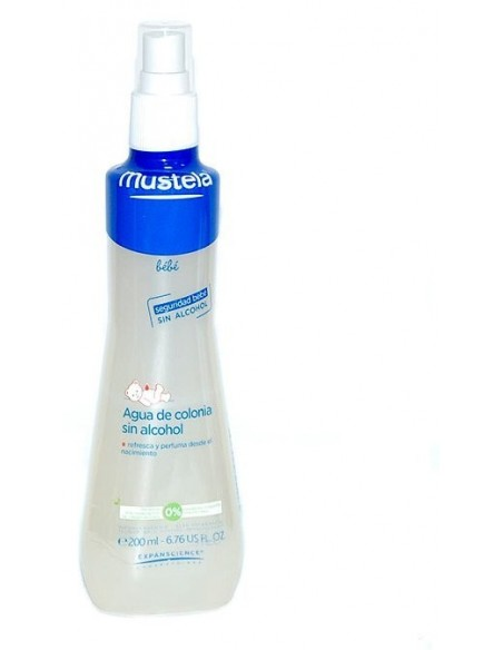 Colonia Mustela sin Alcohol 200 ml