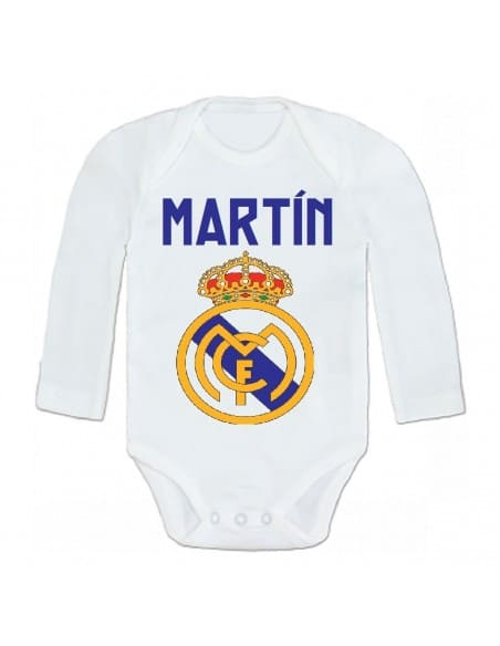 Body personalizado Real Madrid