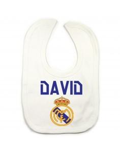 Babero personalizado Real Madrid