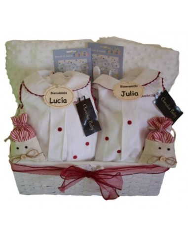 Country twins basket