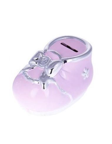 Hucha Patuco Baby Rosa