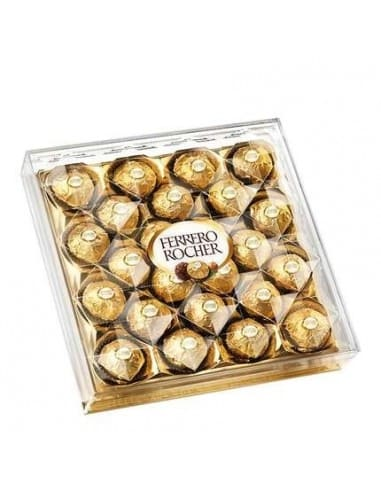 Bombones Ferrero 24 unidades 300 gr
