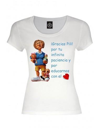 Camiseta personalizada profe en apuros