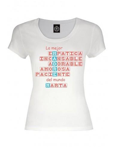 Camiseta personalizada Scrable padre