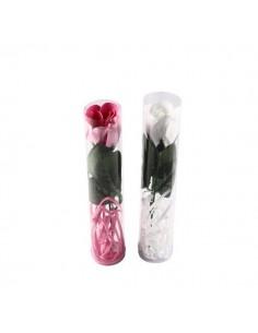 4 Flores de jabón con lazo
