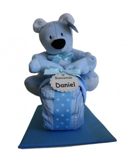 Blue Nappies Tricycle