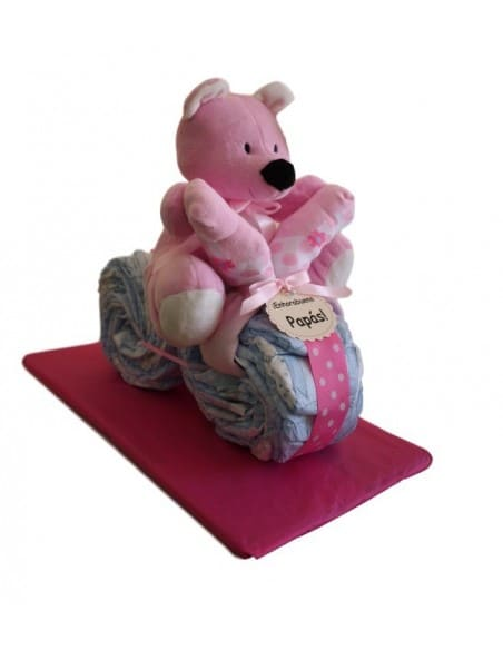 Rose nappies tricycle
