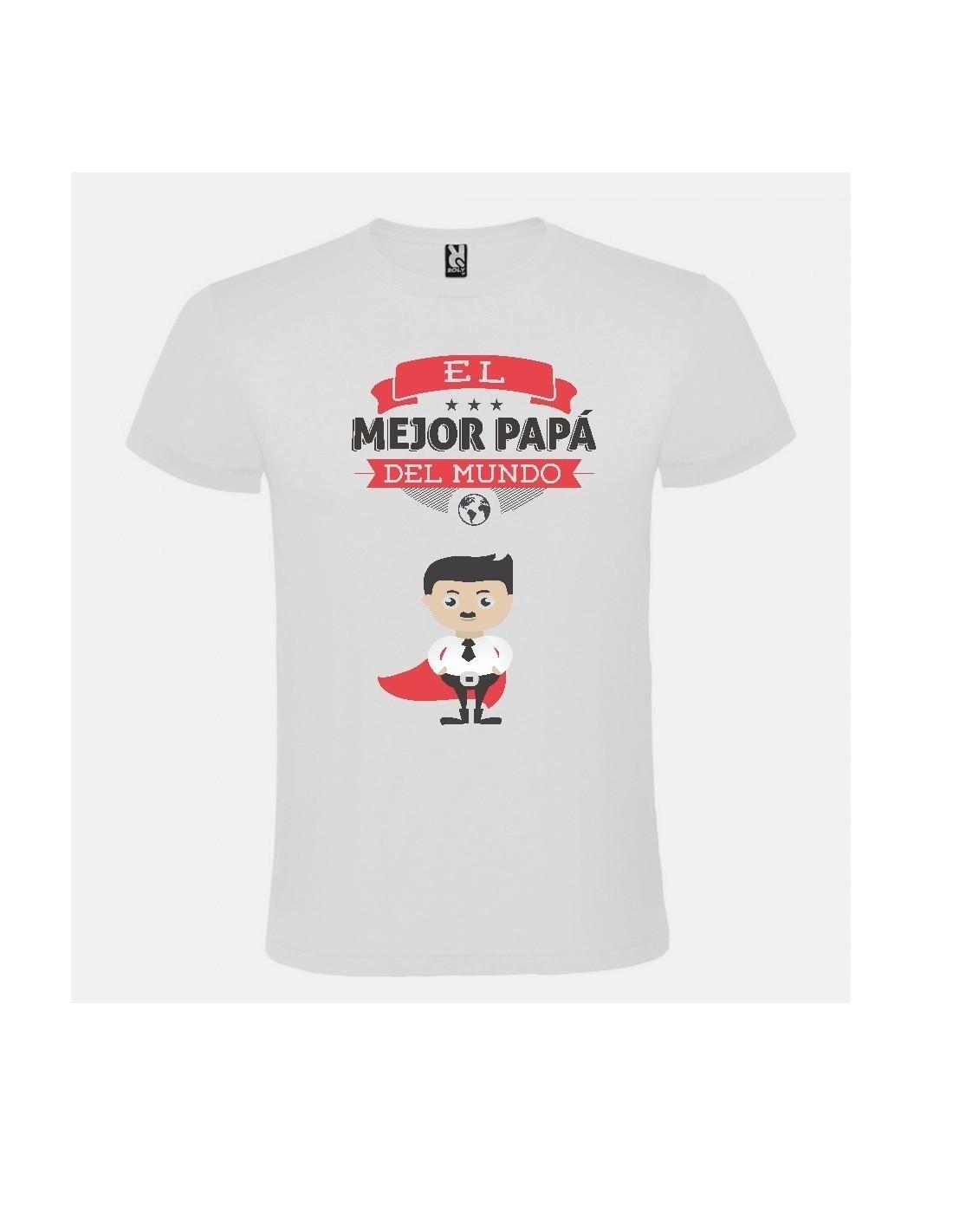 71965f7052801 Camiseta El mejor papá del mundo