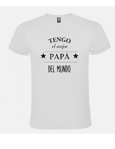 Camiseta Tengo el mejor papá del mundo