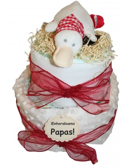 Country nappies cake