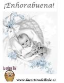 Canastilla Sweet Miracle Azul
