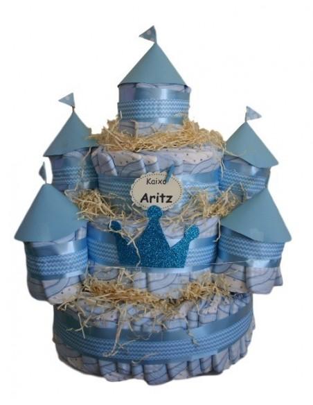 Castillo de pañales