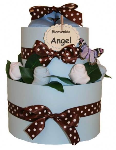 ''Un jardín de rosas'' girl cake