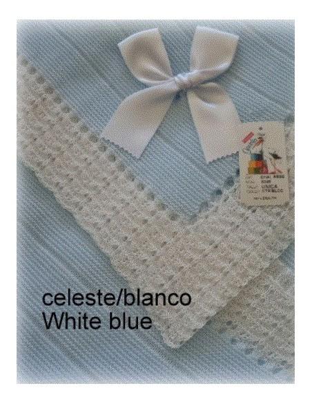 Canastilla Teddy Azul