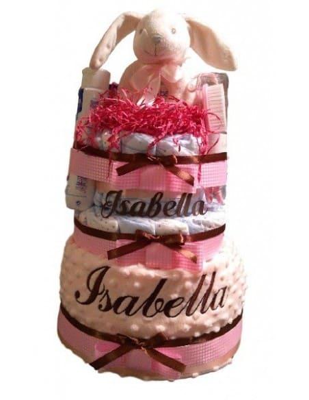 Tarta de pañales Isabella