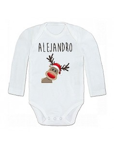 Body personalizado Reno Navidad