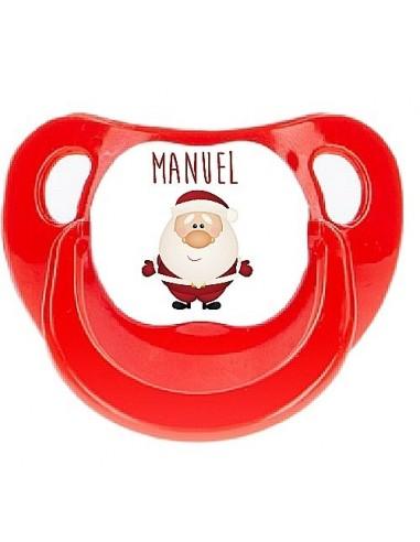Chupete personalizado reno de navidad