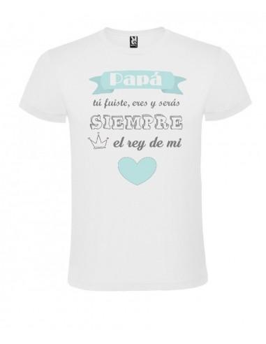 Camiseta El rey de mi corazón