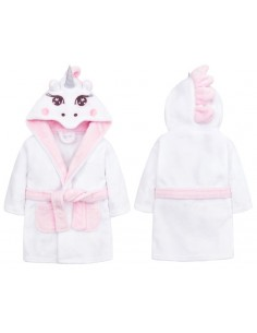 Bata de bebé Unicornio