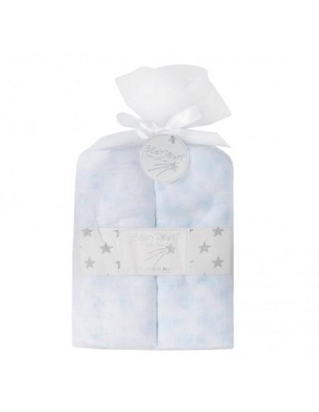 Pack 2 muselinas de algodón