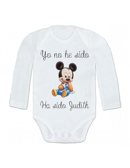 Body personalizado Minnie, no he sido yo...
