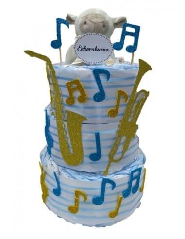 Tarta de pañales Música