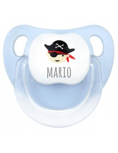 Regalo Chupete personalizado pirata niño