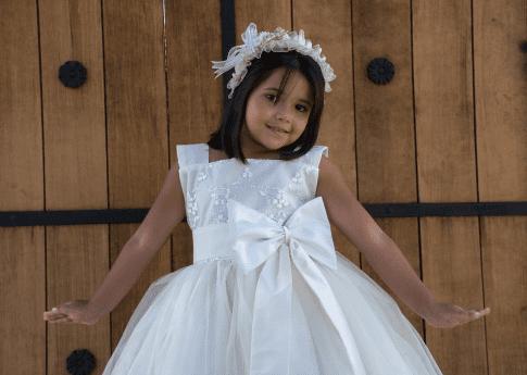 vestidos infantiles para ceremonias
