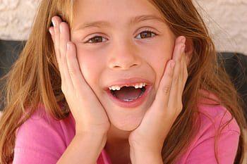 cambio de dientes en los niños