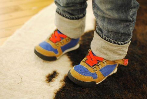 calzado infantil correcto