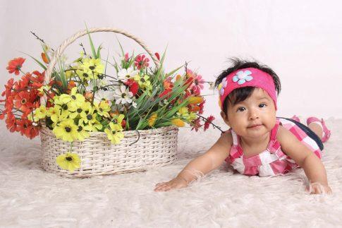 Los bebés y el desarrollo del olfato