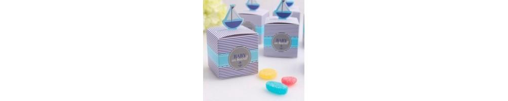 Cajas y dulces